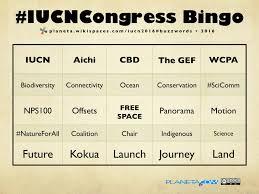 iucncongressbingo