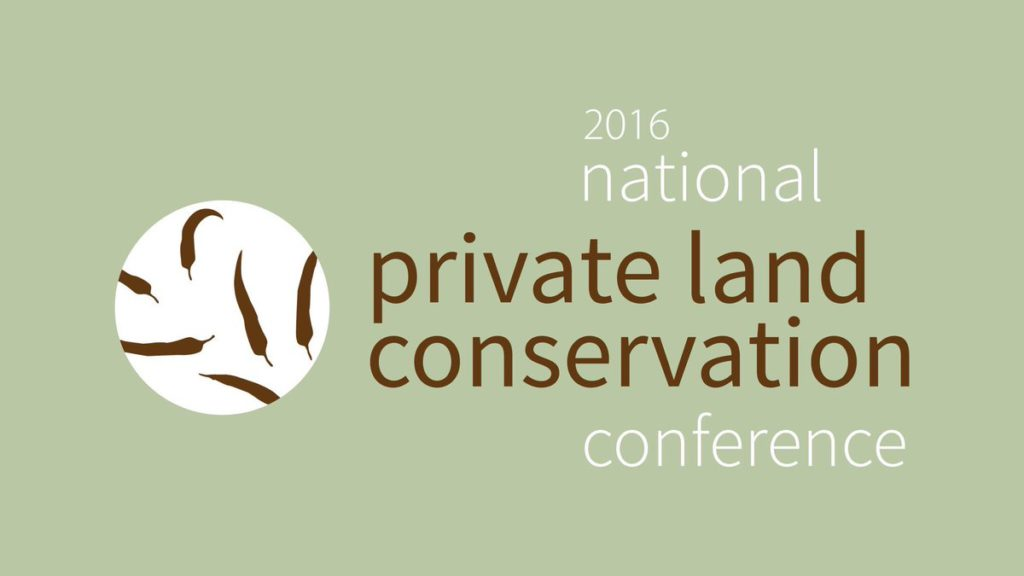 Conservation on Private Land Conference #PLCConf16