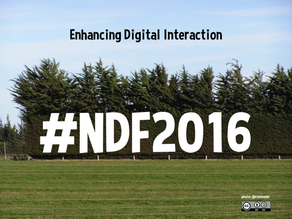 Enhancing Interaction: New Zealand's National Digital Forum