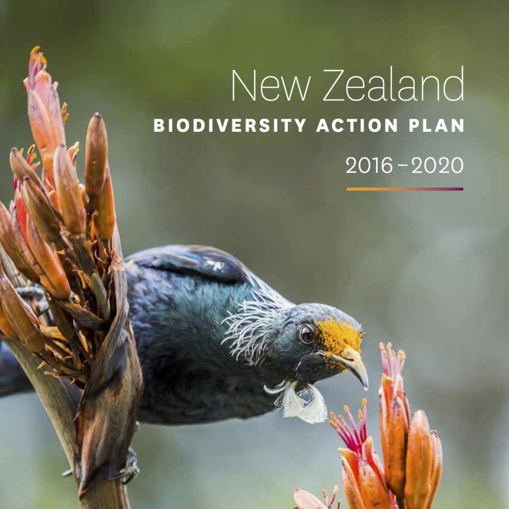 New Zealand's Biodiversity Action Plan