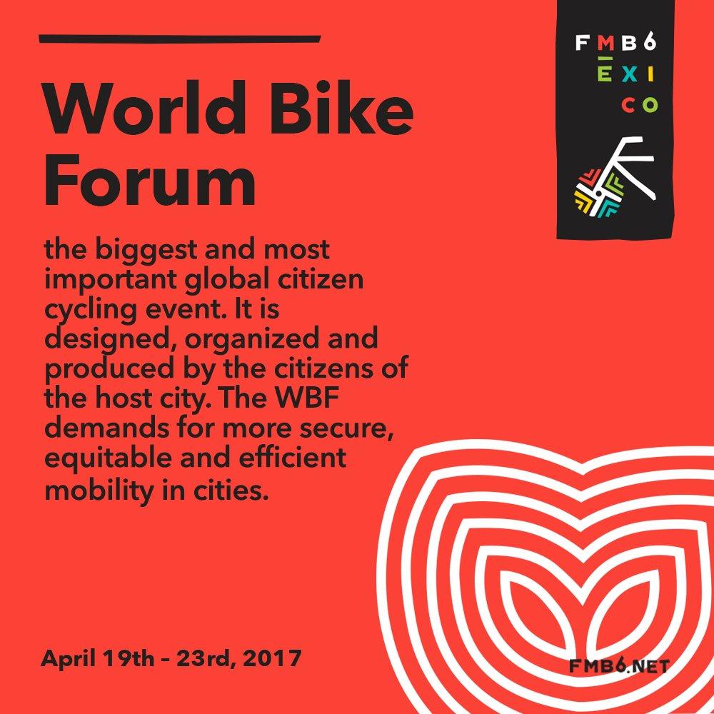 Mexico City Hosts World Bike Forum