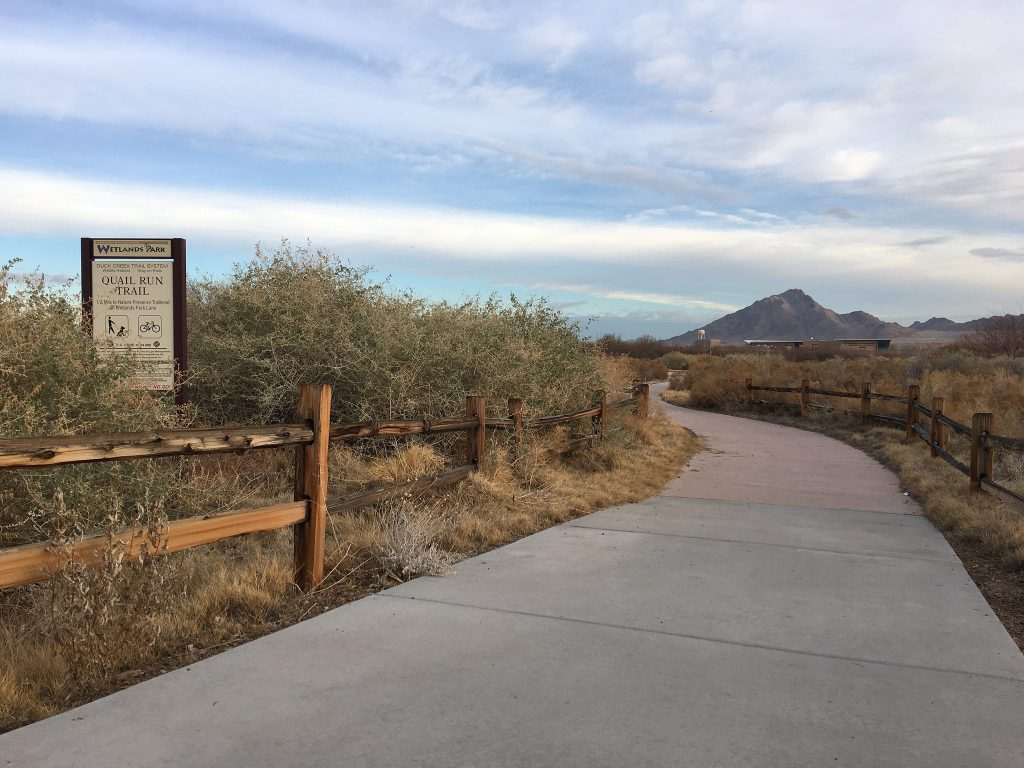 Wetlands Park in Las Vegas