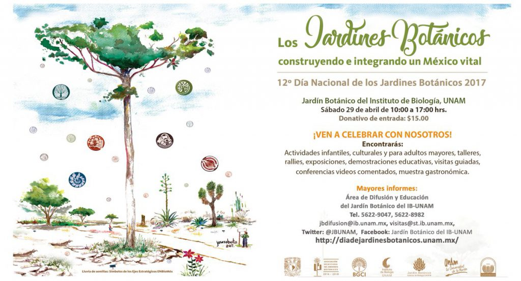 National Day of Botanical Gardens in México