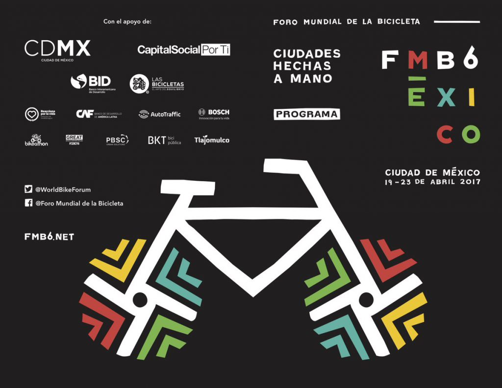 Mexico City Hosts World's Largest Bicycle Party #fmb6