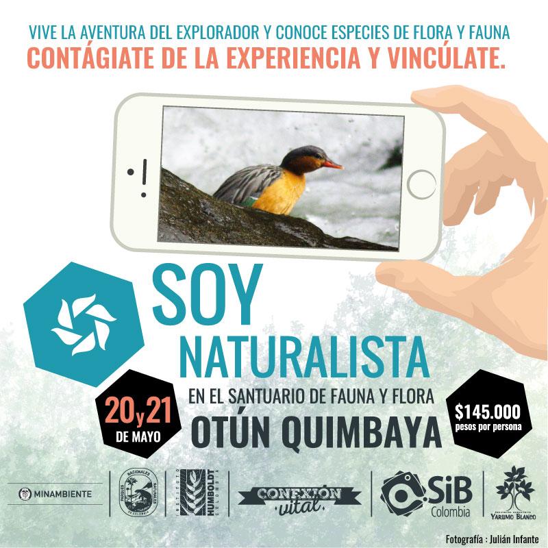 Colombia Celebrates Biodiversity Day #SoyNaturalista