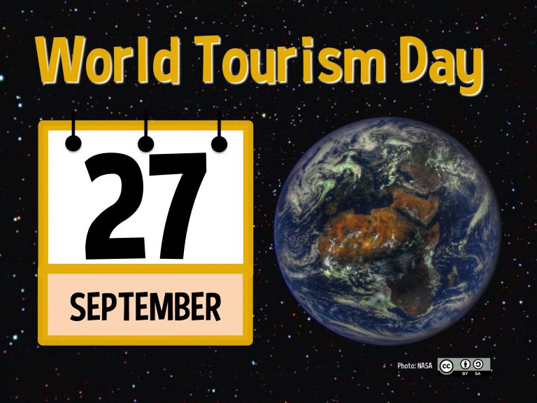 World Tourism Day - 27 September