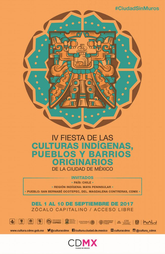 Mexico City Hosts Annual Indigenous Culture Fiesta