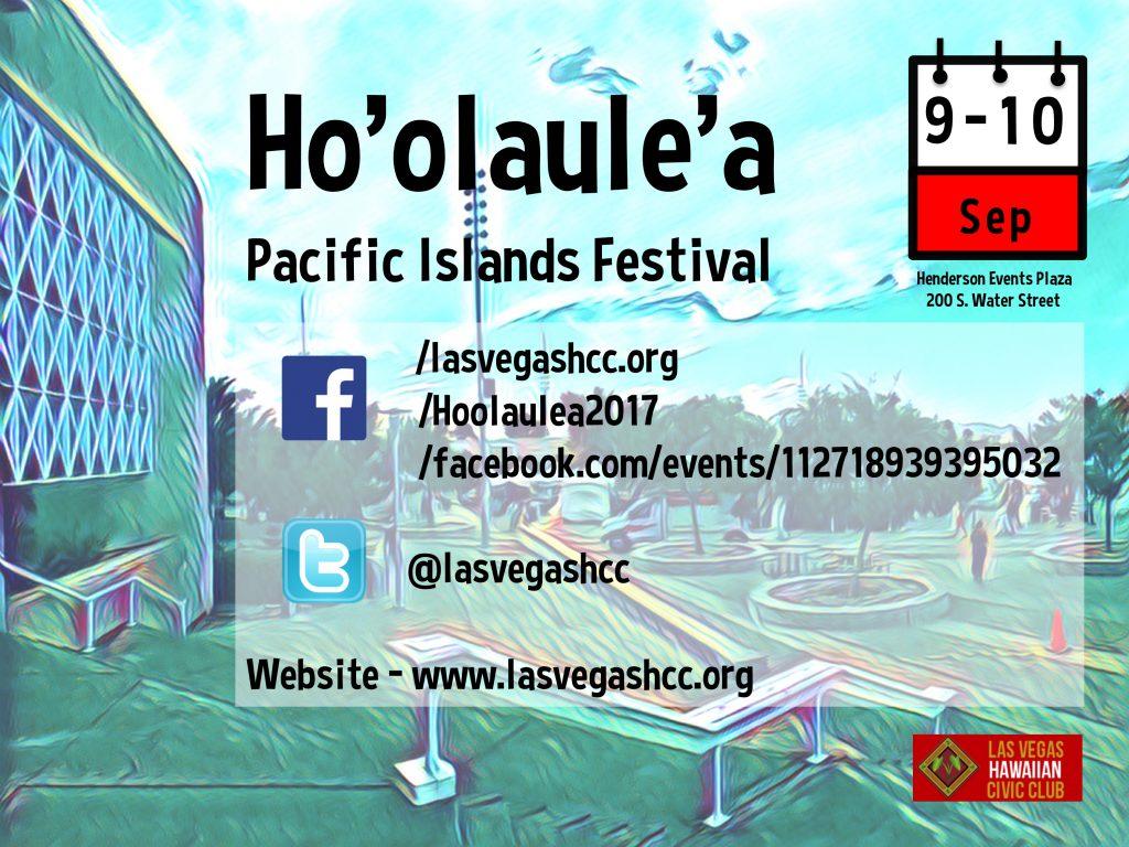 Henderson Hosts Ho'olaule'a Pacific Islands Festival 2017