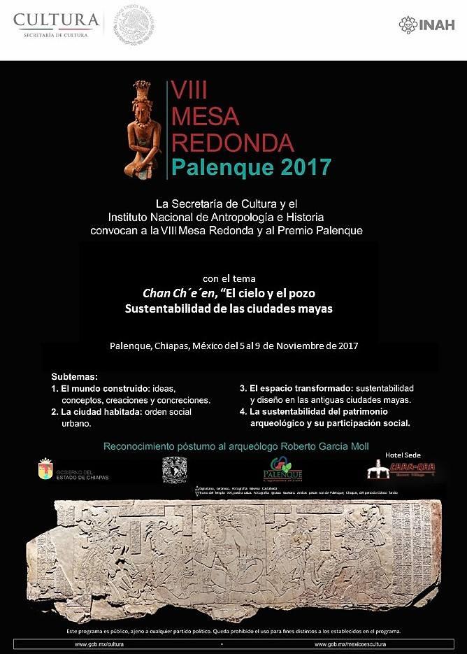 Round Table La Mesa.Palenque Round Table 2017 Planeta Com