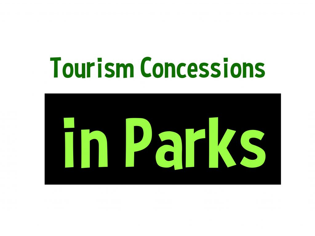 Tourism Concessions in Parks