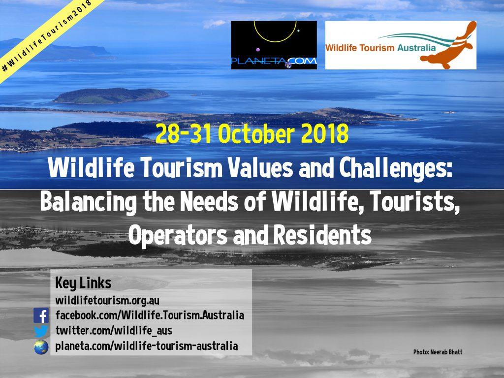 Wildlife Tourism Australia 2018