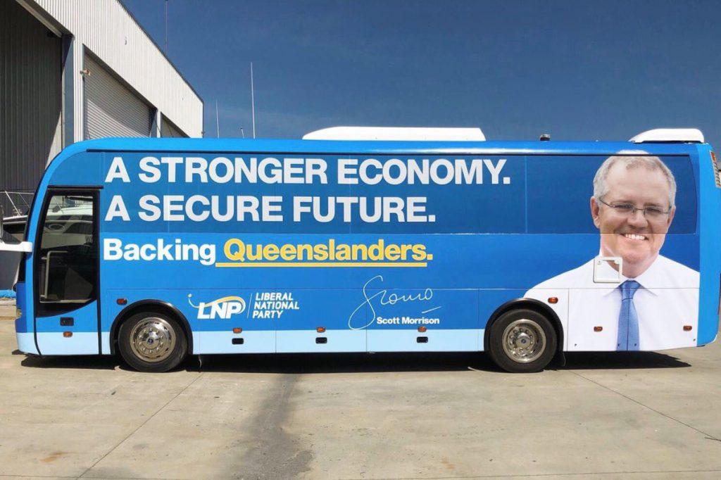 Prime Minister's Bus Tour Not a Bus Tour