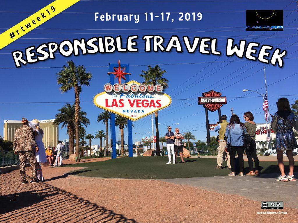 2019 Responsible Travel Week #rtweek19