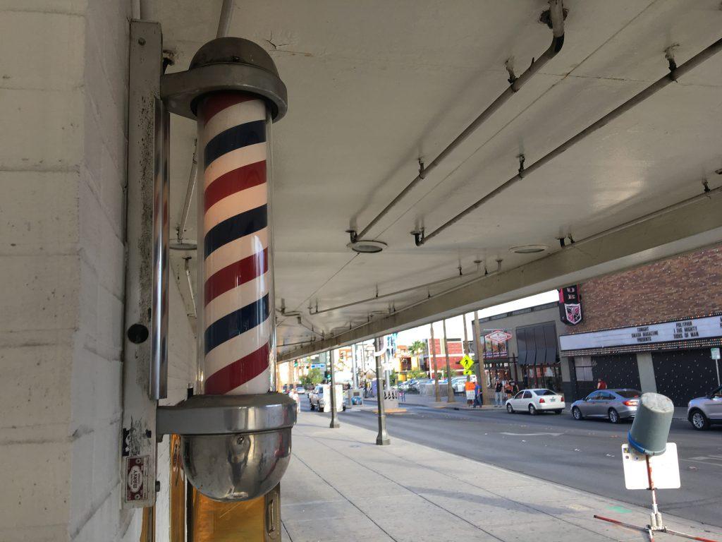 El Cortez Barber Pole