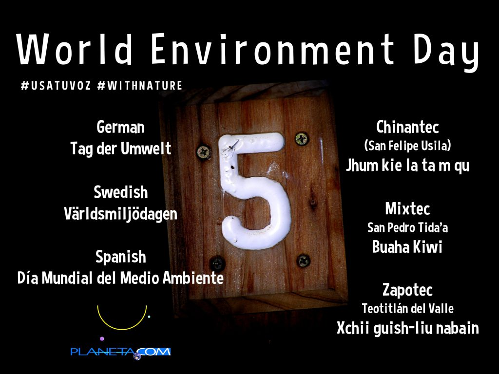 World Environment Day Planeta Com