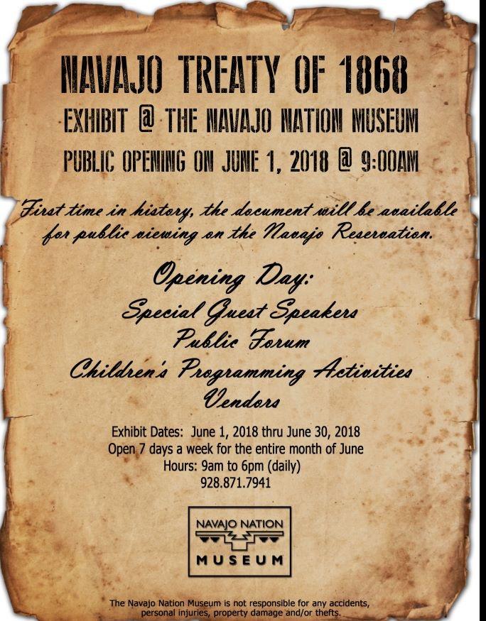 Navajo Treaty (Naaltsoos Sání)