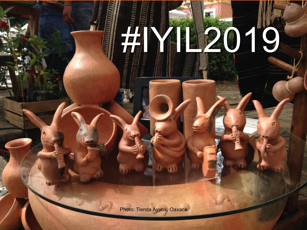 2019 – International Year of Indigenous Languages