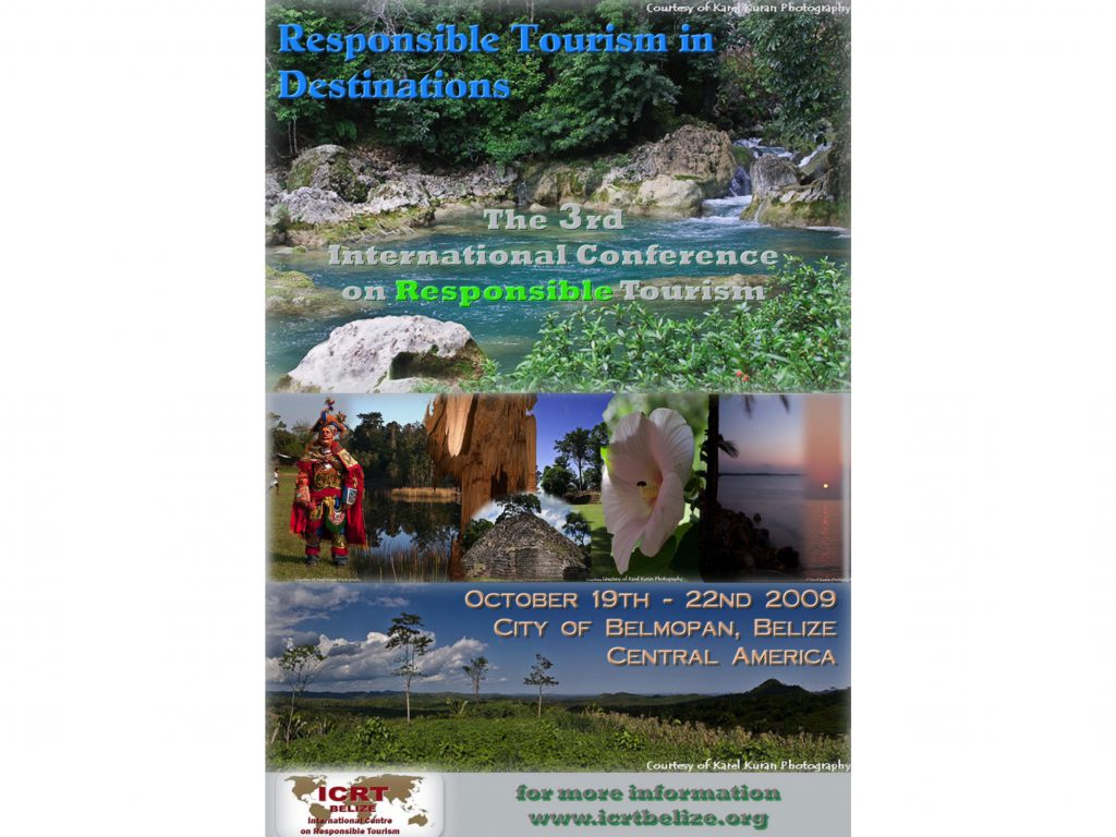 10th Anniversary of the Responsible Tourism Conference in Belize