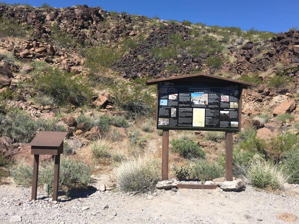 Sloan Canyon Signage