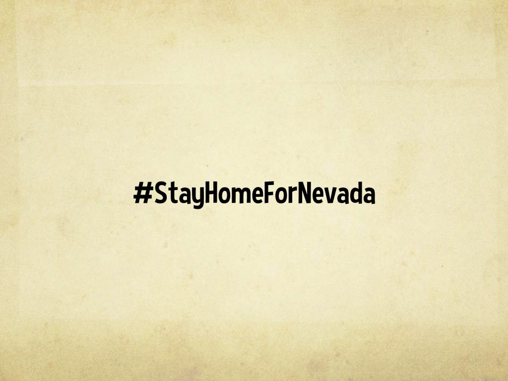 Stay Home for Nevada